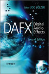 DAFX - Digital Aufio Effects (Buchdeckel)