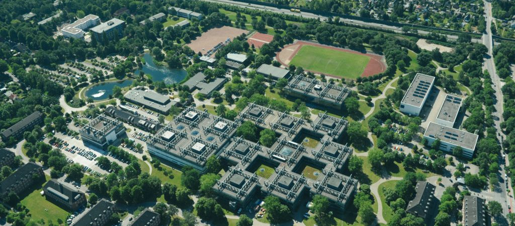 Areal View of the Main Campus