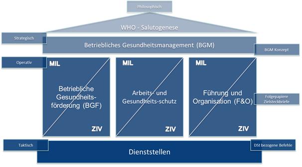 Darstellung der BGM Organisation
