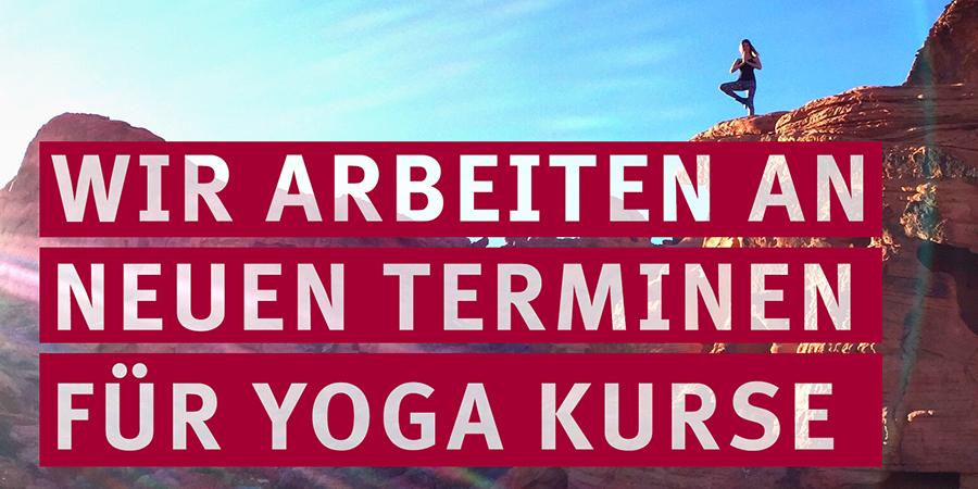 Teaser Termine Yoga-Kurse