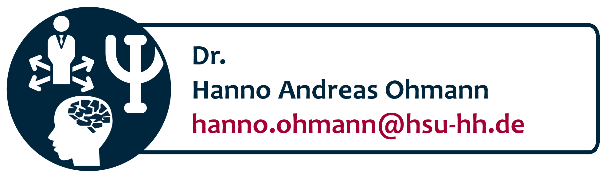Dr. Hanno Andreas Ohmann