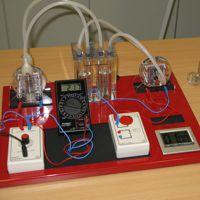 Experimentierstand Brennstoffzelle
