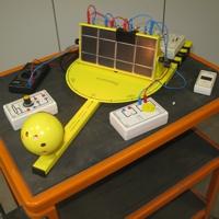 Experimentierstand Photovoltaik