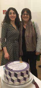 Narjes Jalali (WHK HSU/UniBw H) und Doris Konkart (GleiBziv HSU/UniBw H)