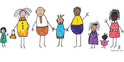 Vielfältige Familien