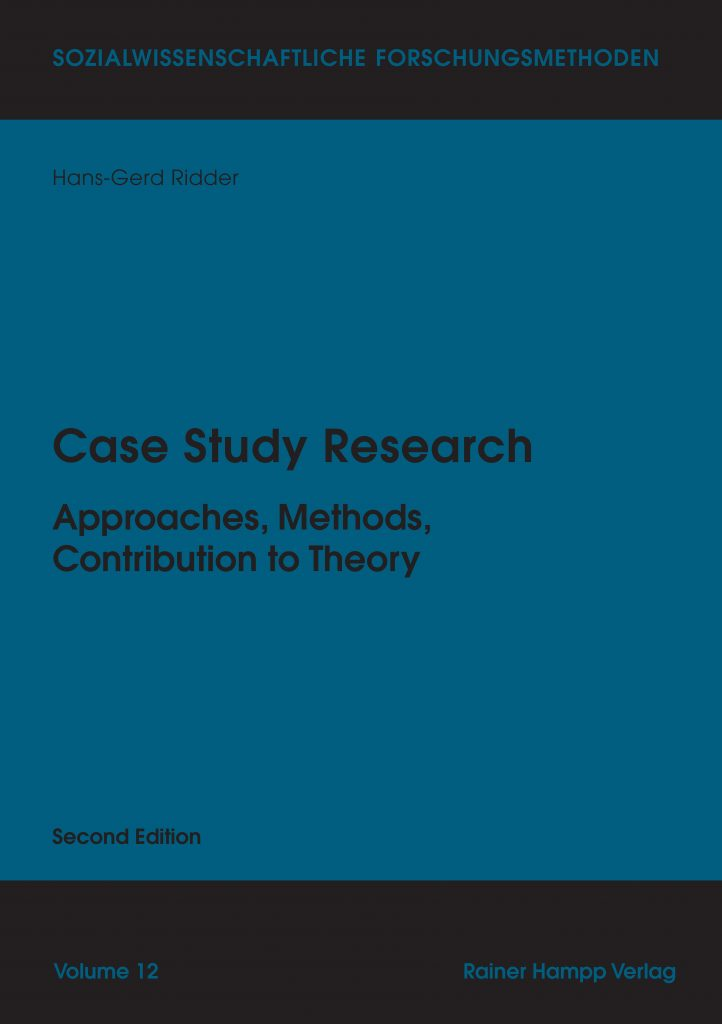 Ridder: Case Study Research (2nd Edition)