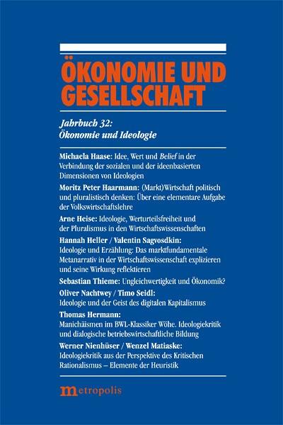 Ökonomie und Gesellschaft Bd 32