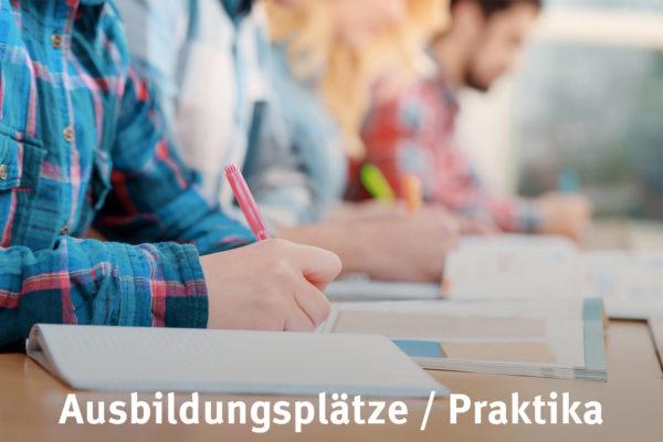 Bild Ausbildungsplätze und Praktika