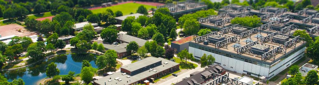 HSU Drohnenfoto Tilt-Shift