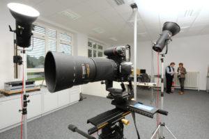 Photo-studio camera