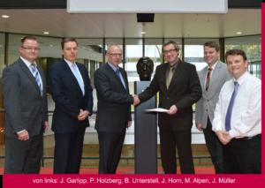 Bild zur Unterzeichnung des Kooperationsvertrags