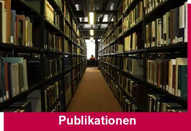 Innenaufnahme einer Uni-Bibliothek