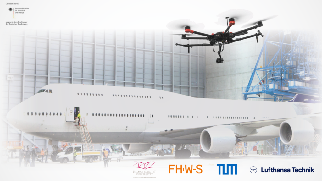 UAS with airliner