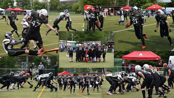American Football Collage