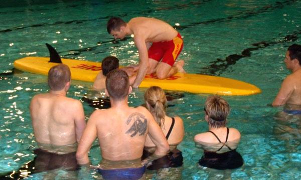 Rettungssschwimmen