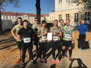 UniBwH in Berlin beim 10km Lauf