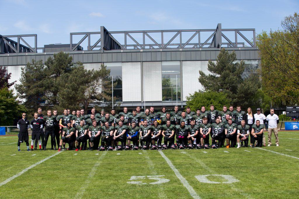 Mannschaftsfoto HSU Snipers
