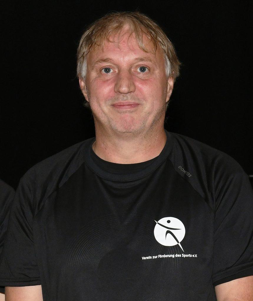 Gerätewart Thorsten Ruminski