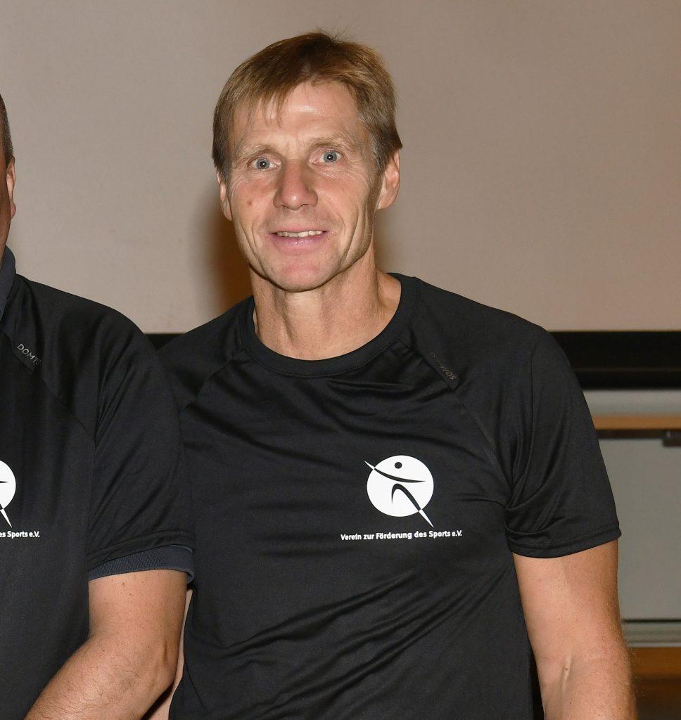 Sportlehrer Harald Rieck