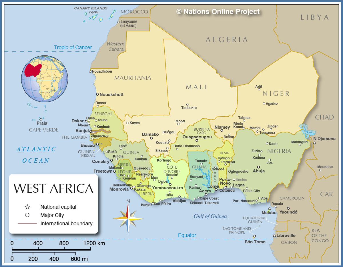 westafrica map