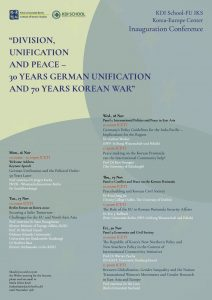 Inauguration Conference Poster
