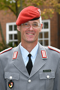 Portrait Oberst Bjarne Krause
