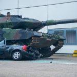 Überrollvorführung KPz Leopard 2 A6
