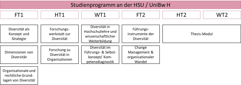 Zentrum für wissenschaftliche Weiterbildung (ZWW) der Helmut-Schmidt Universität / Universität der Bundeswehr Hamburg (HSU / UniBw H), Weiterbildung Master-Studiengang Leading Diversity (MLEAD)