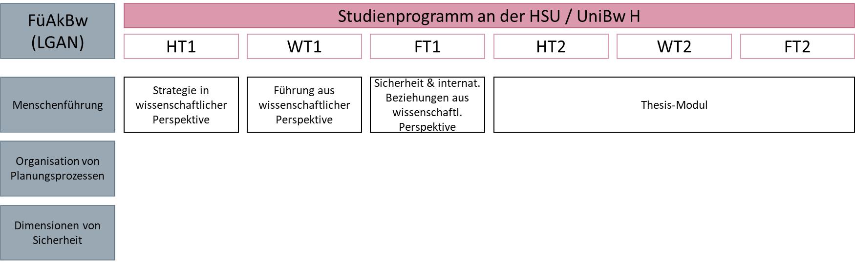 Zentrum für wissenschaftliche Weiterbildung (ZWW) der Helmut-Schmidt Universität / Universität der Bundeswehr Hamburg (HSU / UniBw H), Weiterbildung Master-Studiengang Militärische Führung und internationale Sicherheit (MFIS)