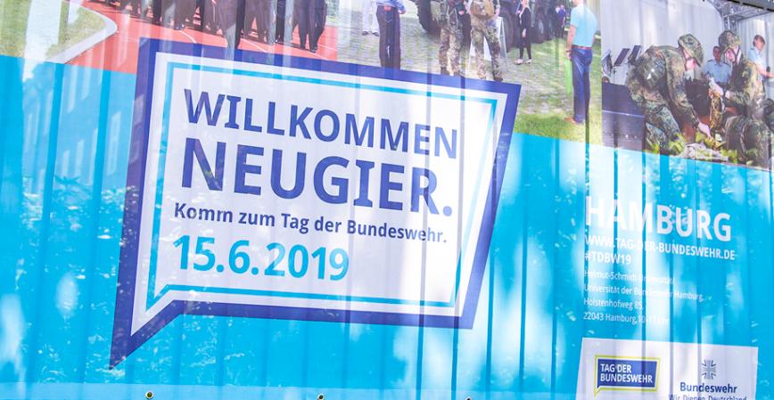 Willkommen Neugier. Komm zum Tag der Bundeswehr. 15.6.2019