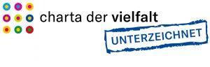 Logo: Charta der Vielfalt