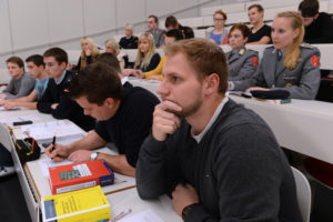 Studied in the lecture hall