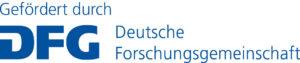 Gefördert durch die Deutsche Forschungsgemeinschaft DFG