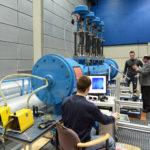 Windkanal im Laboratorium für Strömungsmaschinen (Foto: Reinhard Scheiblich)