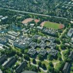Luftbild vom Campus. (Foto: Reinhard Scheiblich)