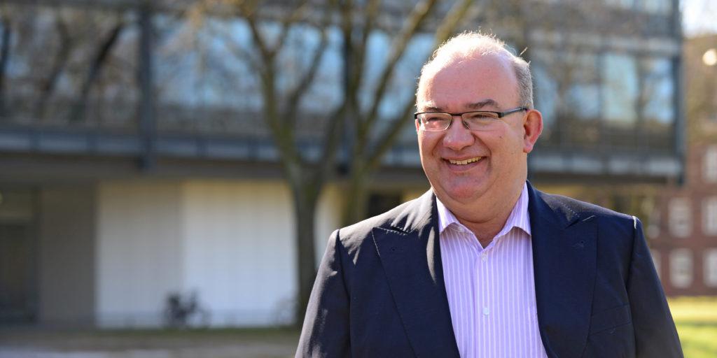 Prof. Dr. Klaus Beckmann ist ab dem 01.04.2018 Präsident der HSU (Foto: Ulrike Schröder)