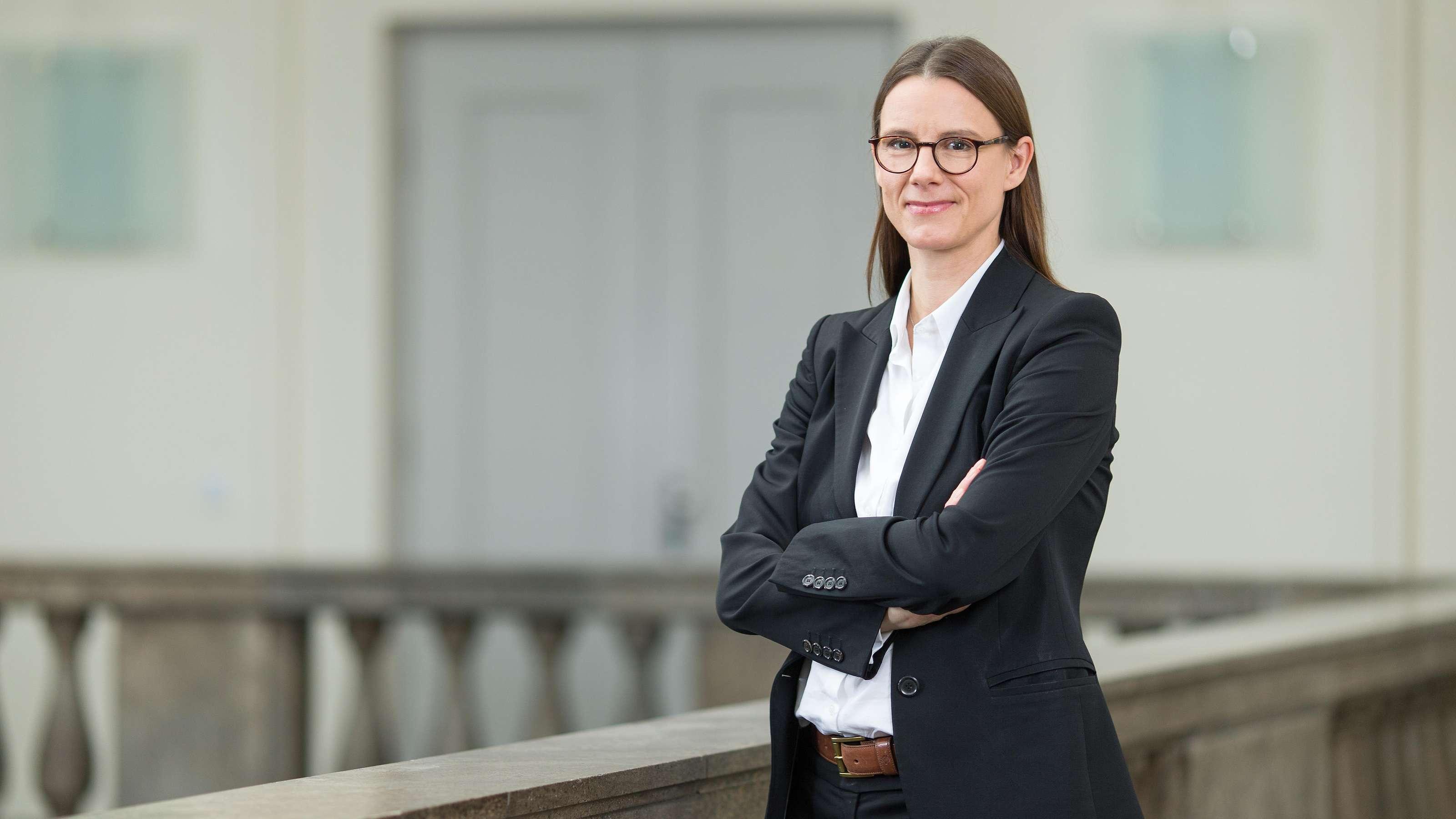 Staatssekretärin Dr. Katrin Suder (Foto: Jane Schmidt)