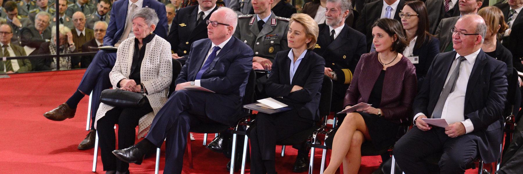 Festakt zur Übergabe des Präsidentenamtes am 23. März 2018 (Foto: Ulrike Schröder)