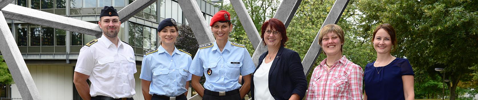 Foto Zivile und militärische Gleichstellungsbeauftragte