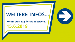 Tag der Bundeswehr Weitere Infos Button