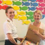 Studierende spendeten Schulstarter-Kits für die Arche