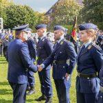 Beförderungsappell für Offizieranwärter der Luftwaffe