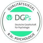 Qualitätssiegel für Bacherlorstudiengang Psychologie