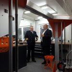 Vizeadmiral Brinkmann zu Besuch an der HSU
