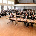 Teilnehmer*innen des DWT-Symposiums debattierten am 12. und 13. Februar 2020 an der Helmut-Schmidt-Universität über die Auswirkungen der Digitalisierung auf das zivile und militärische Projektmanagement.