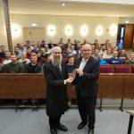 Besuch der Synagoge 'Hohe Weide'