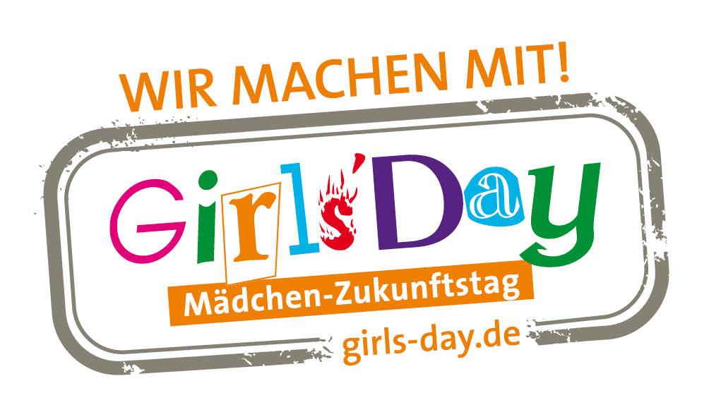 Logo Girls' Day - Jungen-Zukunftstag - Wir machen mit!