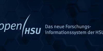 Logo openHSU - Das neue Forschungsinformationssystem der HSU