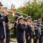 Ein Musikkorps der Marine