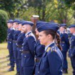 Leutnantsbeförderung für Offizieranwärter der Luftwaffe